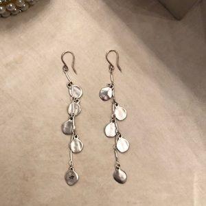 Kenneth Cole silver earrings